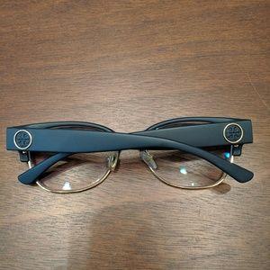 Tory Burch Eyeglasses - navy blue/gold